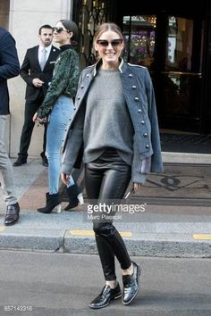 Olivia Palermo is seen on October 3 2017 in Paris France