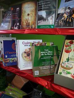 #LasMaravillasDeLaFlora en libreria de Sant Pere Pescador