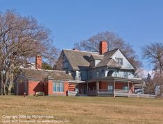 "Today's picture features Sagamore Hill, the last permanent home of one of America's most legendary Presidents: Theodore Roosevelt. Sagamore Hill is located in Oyster Bay, Long Island, NY, and today it stands preserved just as it was when Roosevelt himself resided there from 1887 to 1919. The official name of Roosevelt's ""Summer White House"" - still in use today as a museum - is Sagamore Hill National Historic Site."