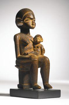 Lobi Maternity Group, Burkina Faso Height: 6 3/4 inches (17.1 cm)