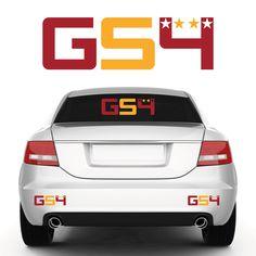 #Galatasaray #GS4 #Aufkleber