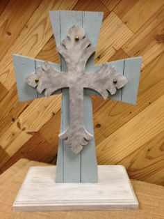 Beautiful Unity Cross Made Out Of Antique Wood