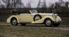 1936 Horch 853 Sport Convertible