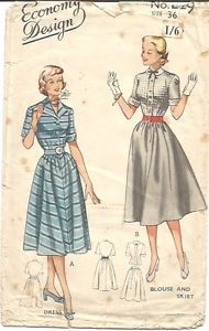 Economy Design Sewing Pattern E29