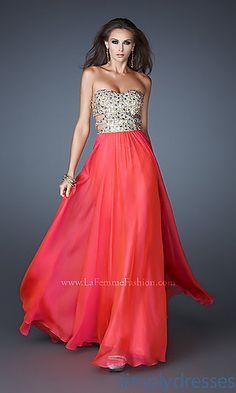 prom dress love the side cutouts