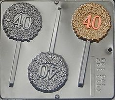 40 lollipop chocolate candy mold for anniversary birthday check out the image by visiting the link