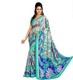 Miraan Art Silk Printed Saree VI8588