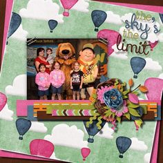 Kit by Day Dreams'n Designs - Up Up & Away