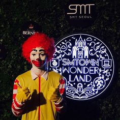 Key as Ronald McDonald