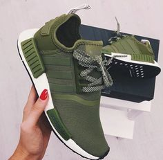 """Shoes """"Adidas"""" NMD Women Fashion Trending Running Sports Shoes Sneakers from ZUZU. Saved to Epic Wishlist.""""Adidas"""" NMD Women Fashion Trending Running Sports Shoes Sneakers from ZUZU. Saved to Epic Wishlist. Women's Shoes, Cute Shoes, Me Too Shoes, Shoe Boots, Shoes Sneakers, Green Sneakers, Shoes Style, Zapatos Shoes, Fall Shoes"""