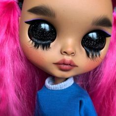 Your place to buy and sell all things handmade Soft Hair, Watercolor Pencils, Custom Dolls, All About Eyes, Aesthetic Iphone Wallpaper, Blythe Dolls, Doll Clothes, Lashes, Natural Hair Styles