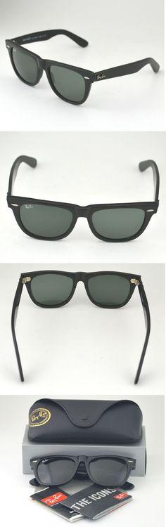 d4d7d0219f Sunglasses and Sunglasses Accessories 179243  Ray Ban Rb 2140 Original  Wayfarer 901 Black Frame Green