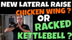 New Lateral Raises - You Name It - Chicken Wing Lateral Raise or Racked Kettlebell Lateral Raise ? Lateral Raises, Your Name, Kettlebell, Chicken Wings, Raising, Names, Exercise, Shoulder, Ejercicio