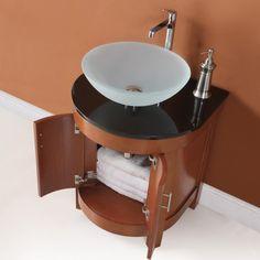 Decolav 5645-CW Haddington Cherry Bathroom Vanity
