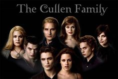 The Cullens - my most favorite make-believe family!