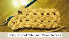 Learn how to make theDaisy Crochet Stitch, or star stitch, in crochet. It is a wonderful stitchthat can be used to make baby blankets because it is soft, fluffy and warm. Click on photos to enlarge and see better. The … Read more... →