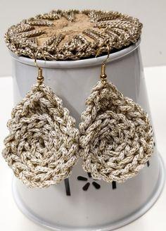 Items similar to Teardrops earrings , crochet earrings , handmade jewelry , oversized earrings for summer , trendy boho jewelry on Etsy Simple Earrings, Blue Earrings, Leaf Earrings, Teardrop Earrings, Statement Earrings, Crochet Earrings, Earrings Handmade, Handmade Jewelry, Boho Jewelry