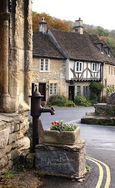 Castle Combe, England, UK - this is one of the most enchanting little villages I've ever been to in my life. It's where they filmed Dr. Doolittle