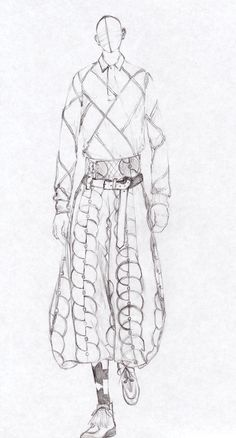 Pencil drawing of male model from my fashion illustration course Illustration Courses, Illustration Techniques, Fashion Illustration Sketches, Fashion Sketches, Croquis Fashion, Fashion Poses, Male Fashion, Men Vs Women, Model Sketch