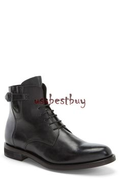 New Handmade Simple Style Genuine Leather Boots, Men