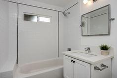 Simple modern bathroom. Perfect for a guest bathroom!