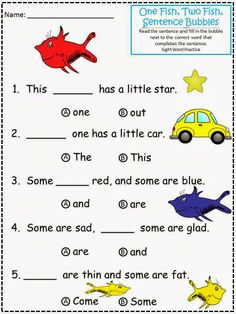 math worksheet : 1000 images about teaching dr seuss on pinterest  dr seuss  : Fill In The Blank Worksheets For Kindergarten