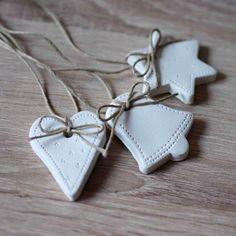 Vánoční ozdoby - přírodní stuha / Zboží prodejce PeBe | Fler.cz