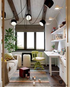 Kids room - Interior Loft on Behance