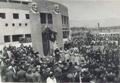 Fotos historicas chile, inauguración estadio nacional 1938.