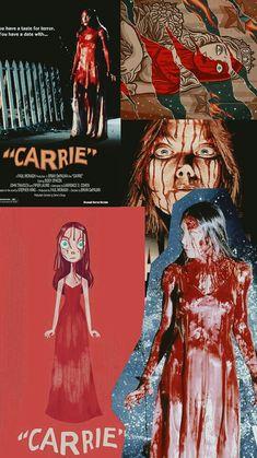 Carrie Wallpapers Horror Icons, Horror Films, Horror Art, Carrie Stephen King, Carrie The Musical, Chucky Horror Movie, Borderlands Art, Carrie White, Fanart