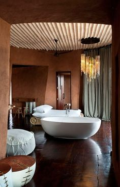 Leobo Private Reserve, South Africa #bathroom