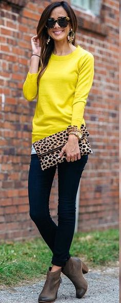 Yellow + Leopard