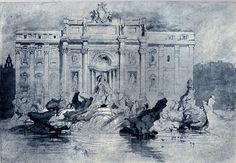 La Fontana de Trevi, 1841 - John Ruskin