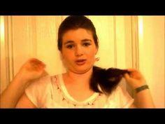 Downton Abbey Hair - Youtube turorial on how to do your hair like Lady Sybil.