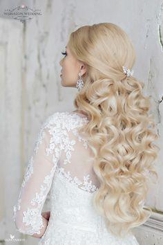 Loose Curls Wedding Hairstyle ~ Websalon Wedding, Liliya Fadeeva Photography