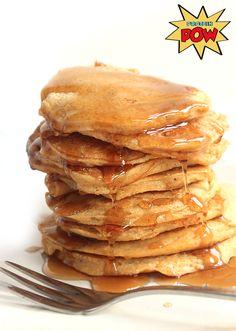 Banana & Sweet Potato Protein Pow Pancakes (Gluten-Free) - Protein Pow