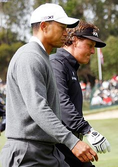 Tiger Woods and Phil Mickelson