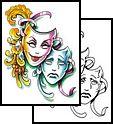drama tattoo | Tattoos, theater Tattoos, theatre Tattoos, laugh Tattoos, cry Tattoos ...