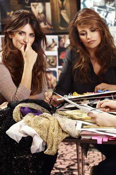 Penelope and Monica Cruz Interview celebrating 5th collections for L'Agent by Agent Provocateur | Harper's Bazaar