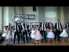 Taniec tatusiów z córeczkami w Szkole Podstawowej nr 5 w Dębicy - YouTube