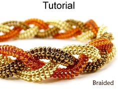 Looking for your next project? You're going to love Braided Herringbone Bracelet #1394 by designer SimpleBPatterns. - via @Craftsy
