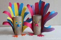 Paw z rolki papieru toaletowego « Zabawy dla dzieci, rozwój dziecka