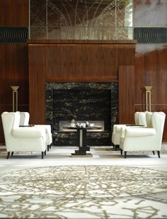 The lobby of the St. Regis Tianjin.