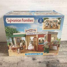 Sylvanian Families Flair Blackcurrant Cafe RARE VERY HTF BNIB #SylvanianFamilies