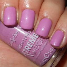 Imperfectly Painted: Sally Hansen Xtreme Wear Orchid Around