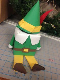 Christmas gift wrap. Elf the movie