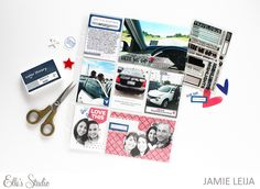 Pocket Pages using the July kit with Jamie Leija | Elle's Studio Blog