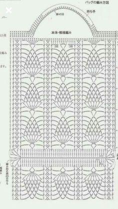 Best 11 Great crochet woven bag designs step by step - SkillOfK .- Best 11 Grandiosos diseños de bolsas tejidas a crochet paso a paso – SkillOfK… Best 11 Great crochet woven bag designs … - Filet Crochet, Free Crochet Bag, Crochet Market Bag, Crochet Pouch, Crochet Chart, Crochet Stitches, Knit Crochet, Crochet Patterns, Crochet Designs