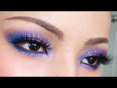 GALAXY Eyes Make-up Tutorial