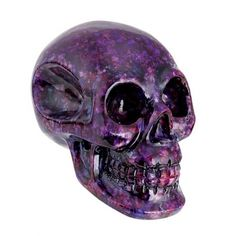 Crystal Skull by Summit Collection (Purple) #inkedshop #crystalskull #decor #purple #skull #homedecor